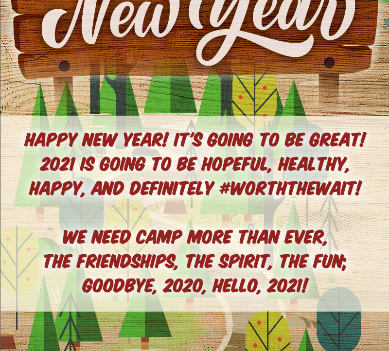 Happy New Year from Camp Timber Tops