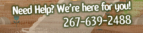 Need Help? Give us a call: 267-639-2488